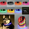 Glow Collar Dog Pet Flashing Light Night